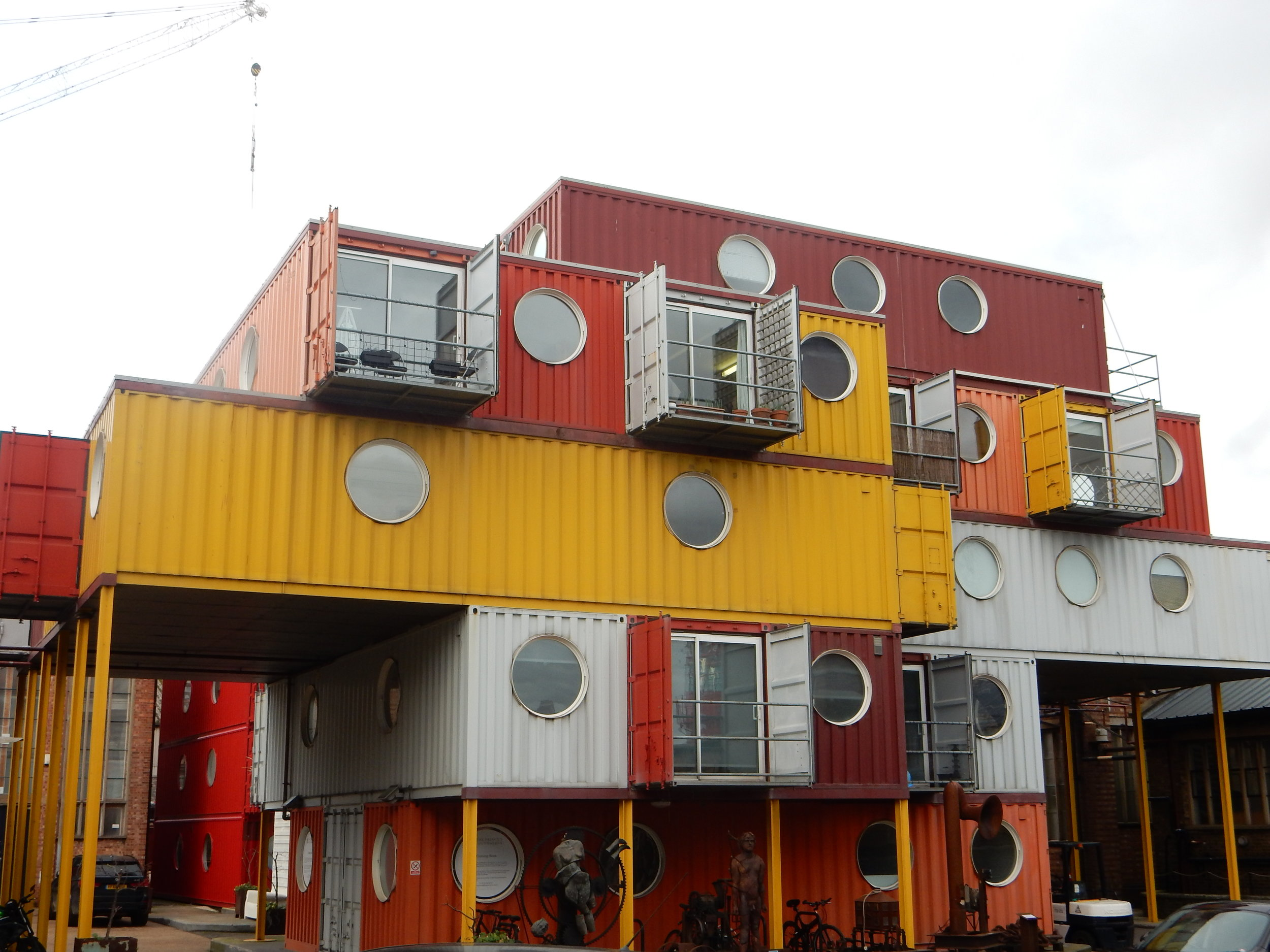 Container City, Trinity Buoy Wharf