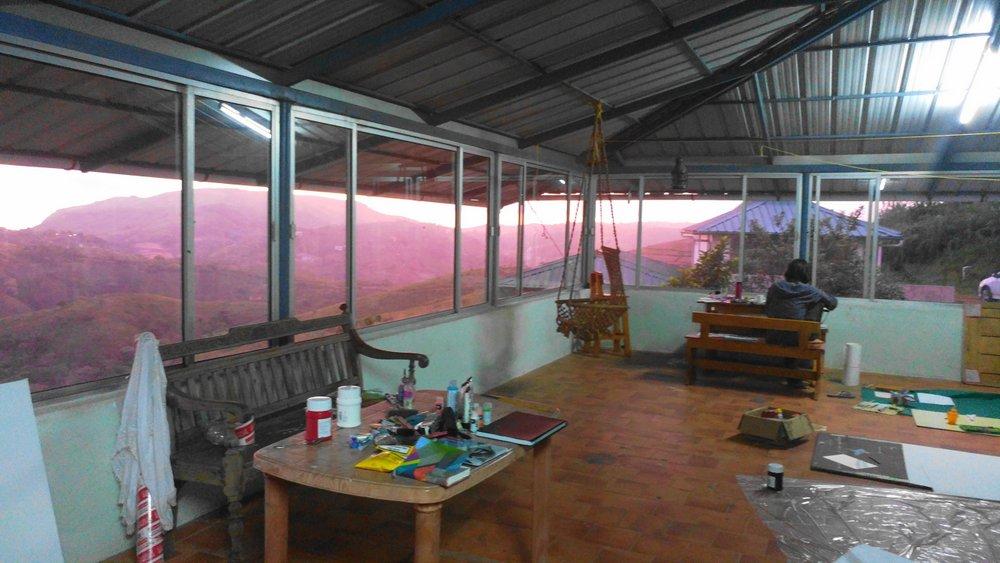 Studio at Sunset