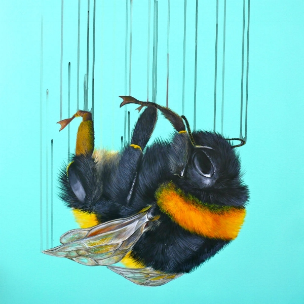 Falling For You by Louise McNaught (Giclee print on Somerset Velvet 330gsm Paper)