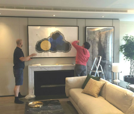 Caiger Art Hanging Services