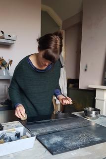 Rachel Newton In Her Studio