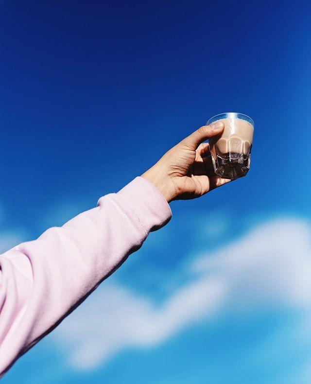 A toast to spring. (Feat. @lake_missoula_tea_co) 📸: @reedklass