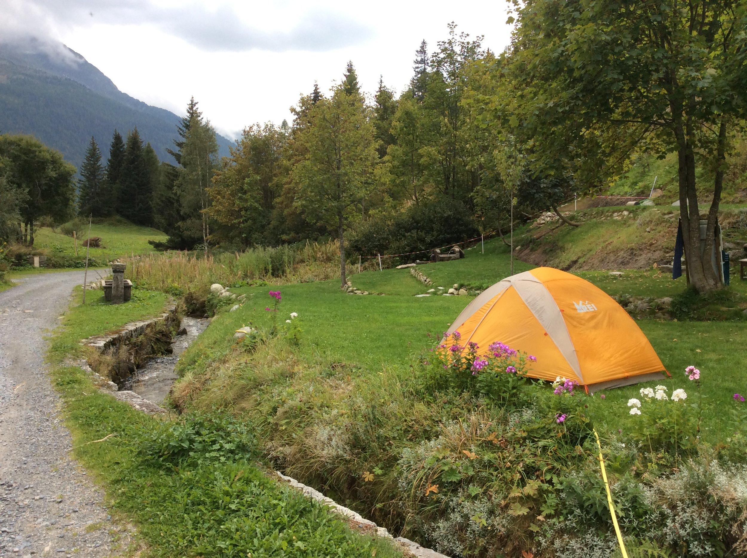 Campsite at Tré-le-Champ