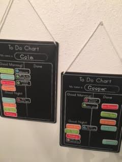 Chore chart. Holla!