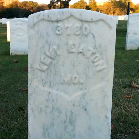 Pvt. Levi VanCamp Eaton, Co. I, 44th MO Infantry, USA