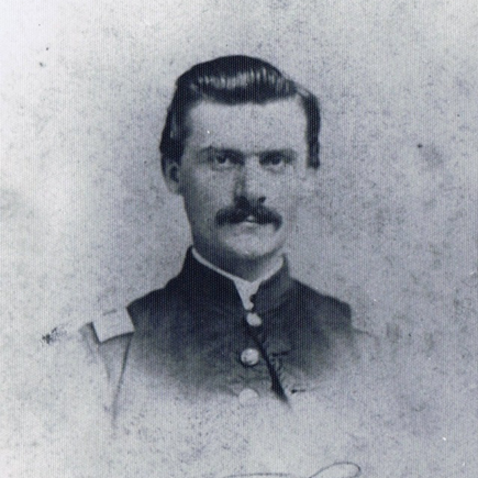 Capt. Charles Hartung, Co. C, 24th WI Infantry, USA