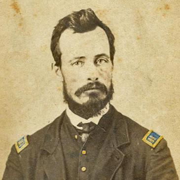 Capt. Wilson Blaine Logan, Co. D, 175th OH Infantry, USA