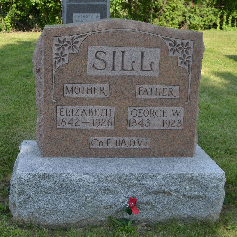 Pvt. George Sill, Co. E, 118th Ohio Infantry, USA