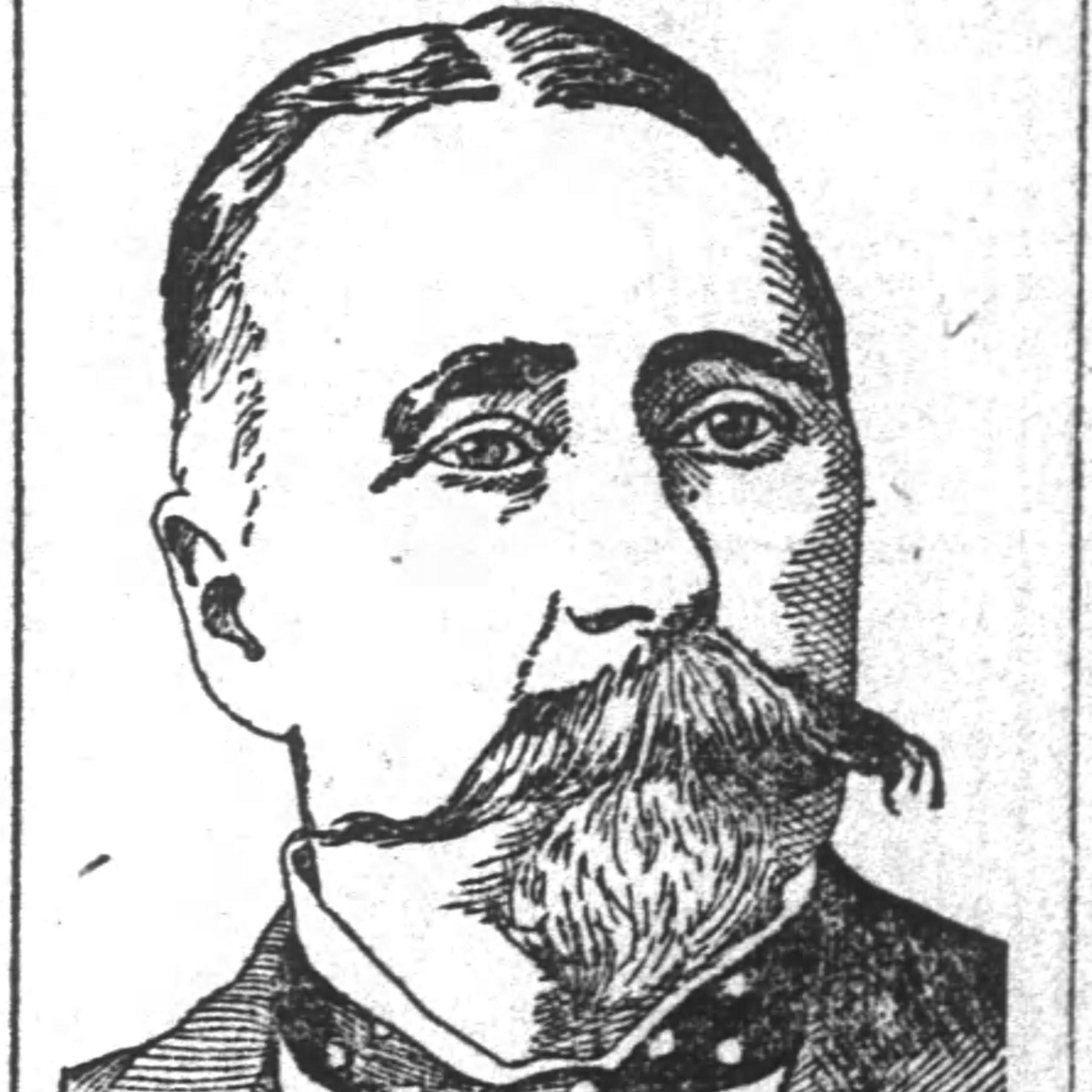 Lt. Colonel John I. Kendall, F&S, General Walthall's Brigade, CSA