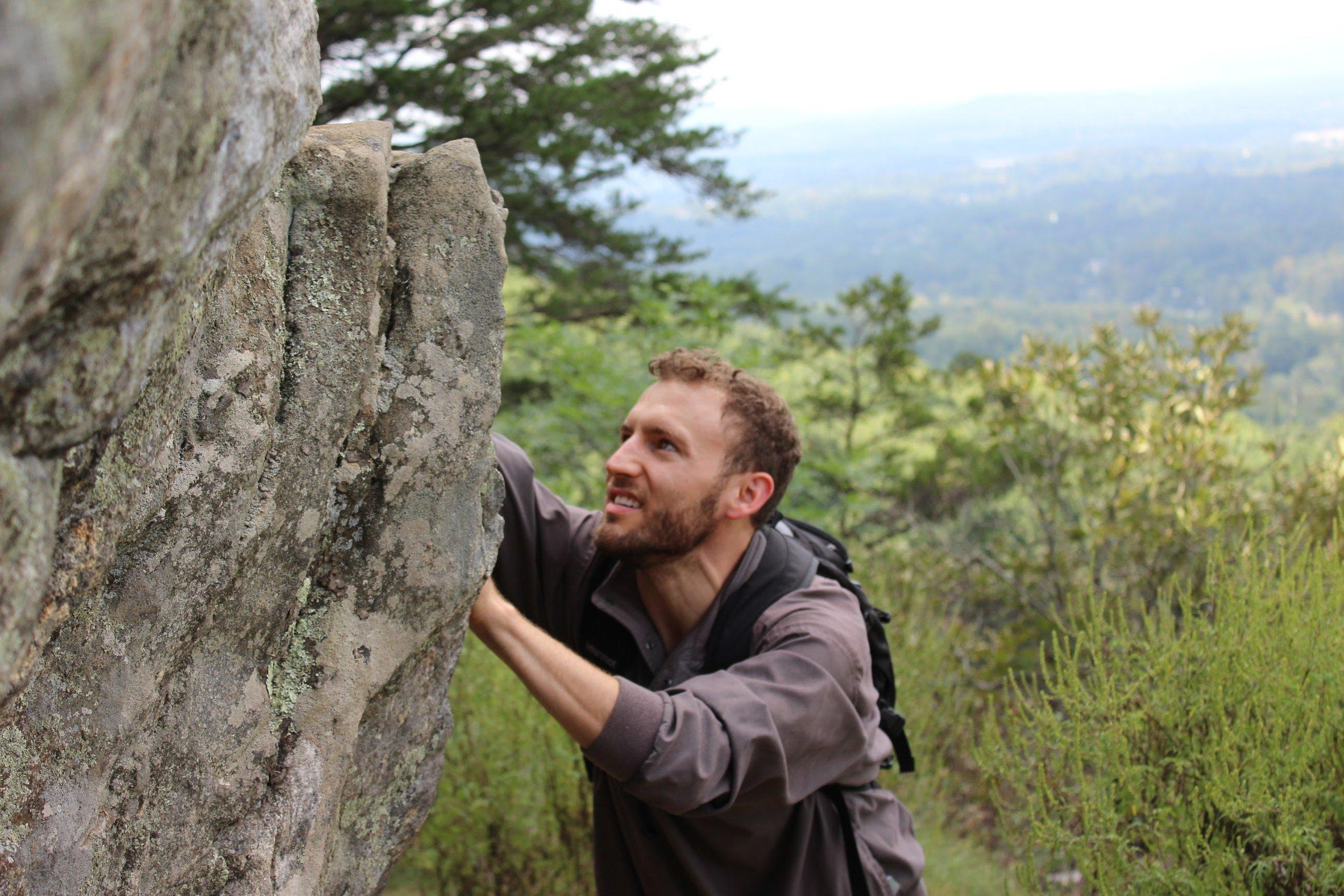 climbing the mountain.JPG