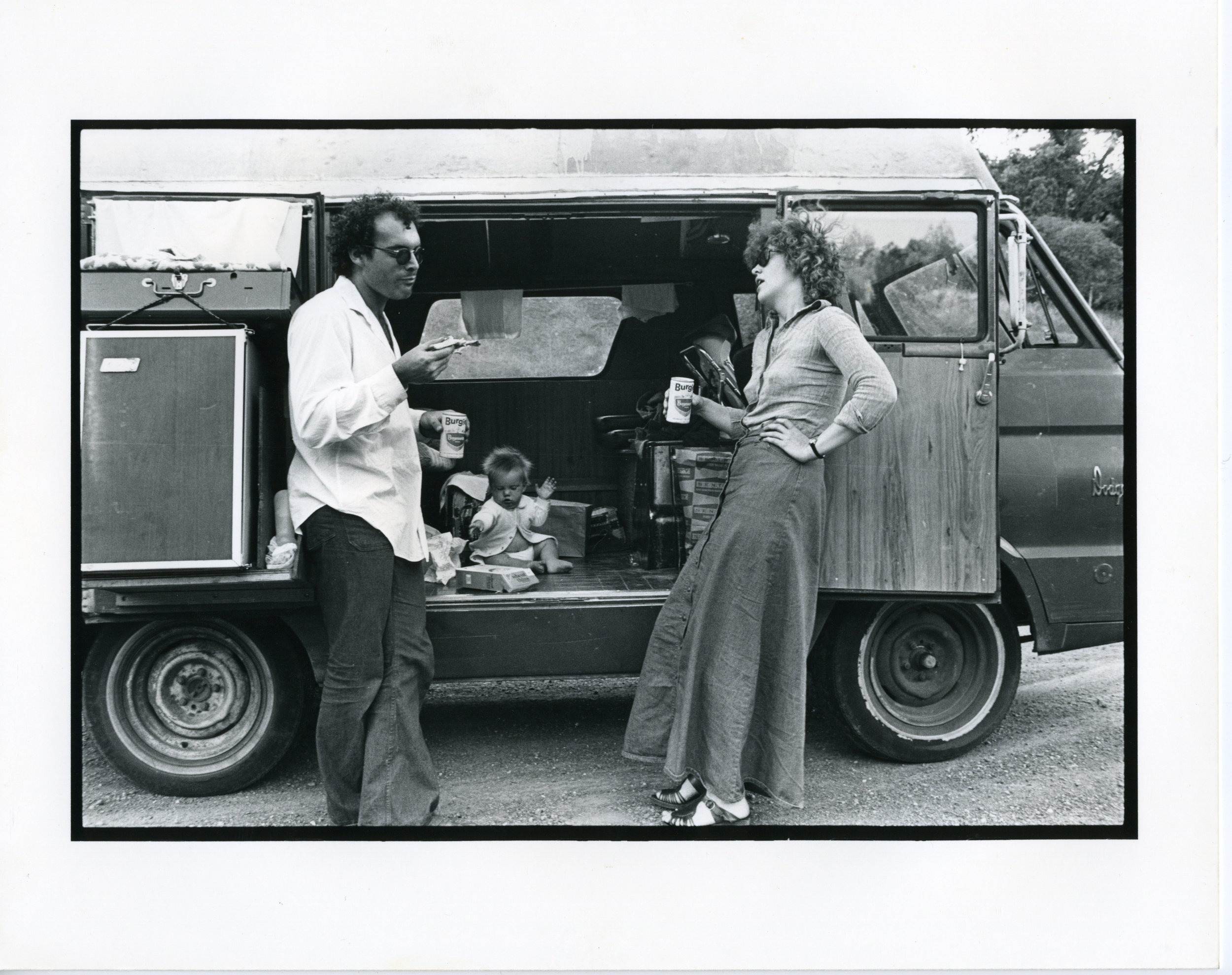 Larry Pisoni, Lorenzo Pisoni, Peggy Snider circa a long time ago