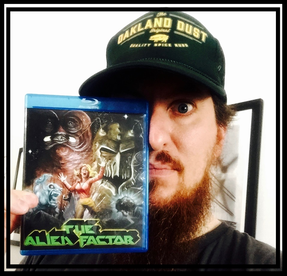 The Alien Factor Blu Ray