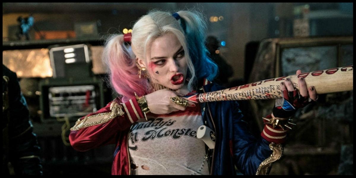 Margot Robbie  steals the show as Harley Quinn.