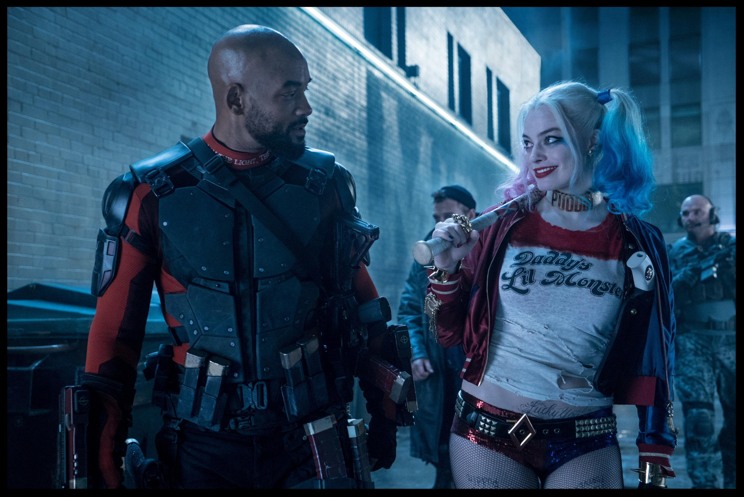 Deadshot ( Will Smith ) and Harley Quinn ( Margot Robbie ) actually manage to forge a real, and tender, friendship.