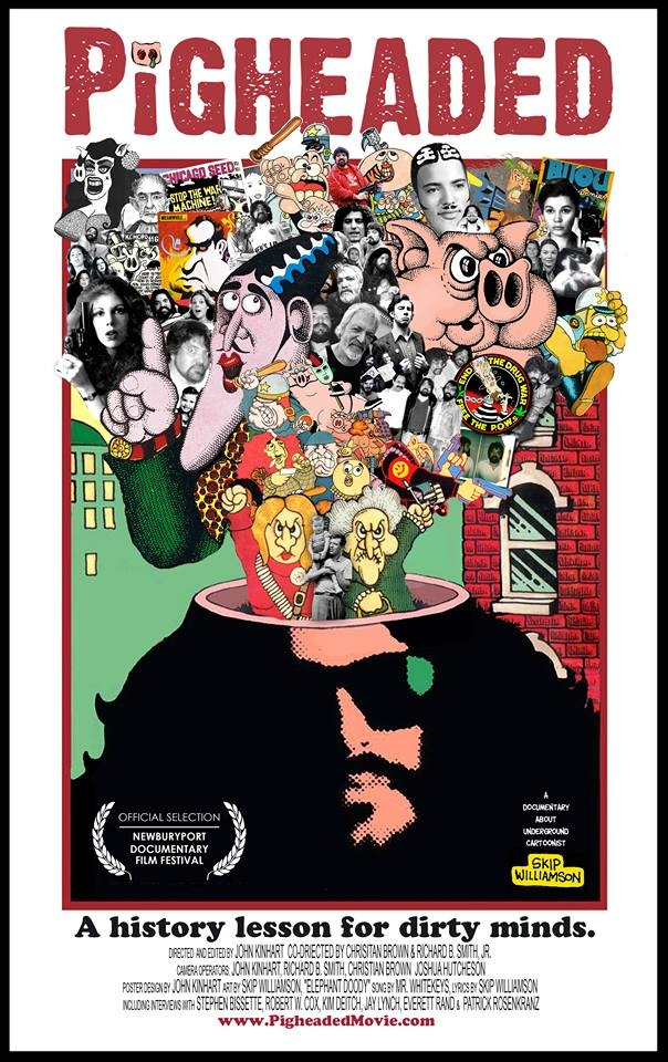 Pigheaded documentary poster