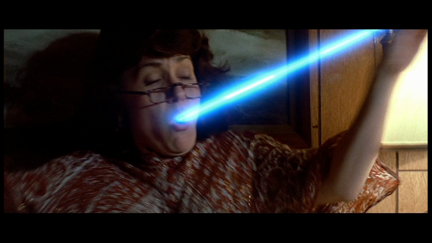I wasn't lying about the lasers.