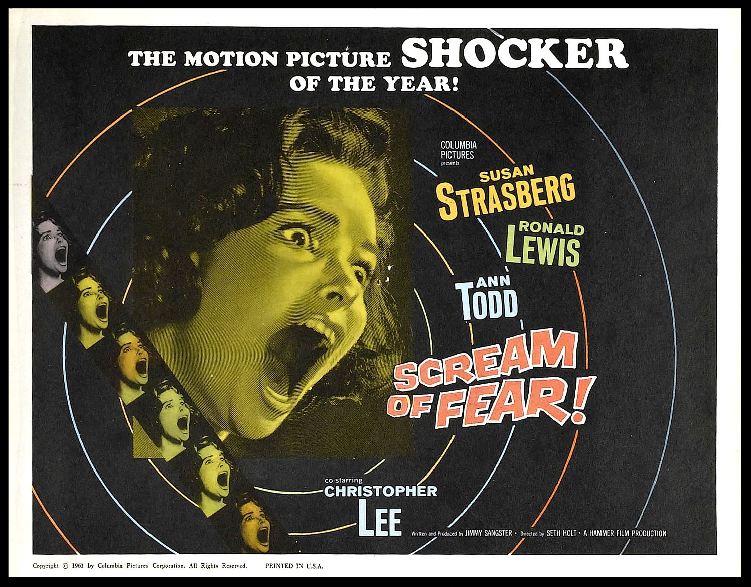 Hammer Horror Scream of Fear