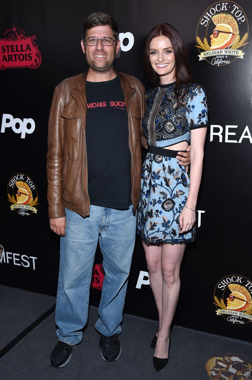 (L-R) -  Oren Peli  and  Lydia Hearst