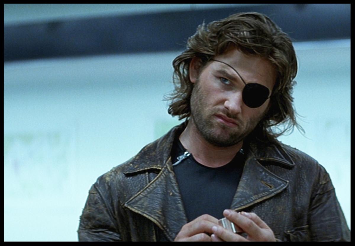 Kurt Russell as Snake Plissken