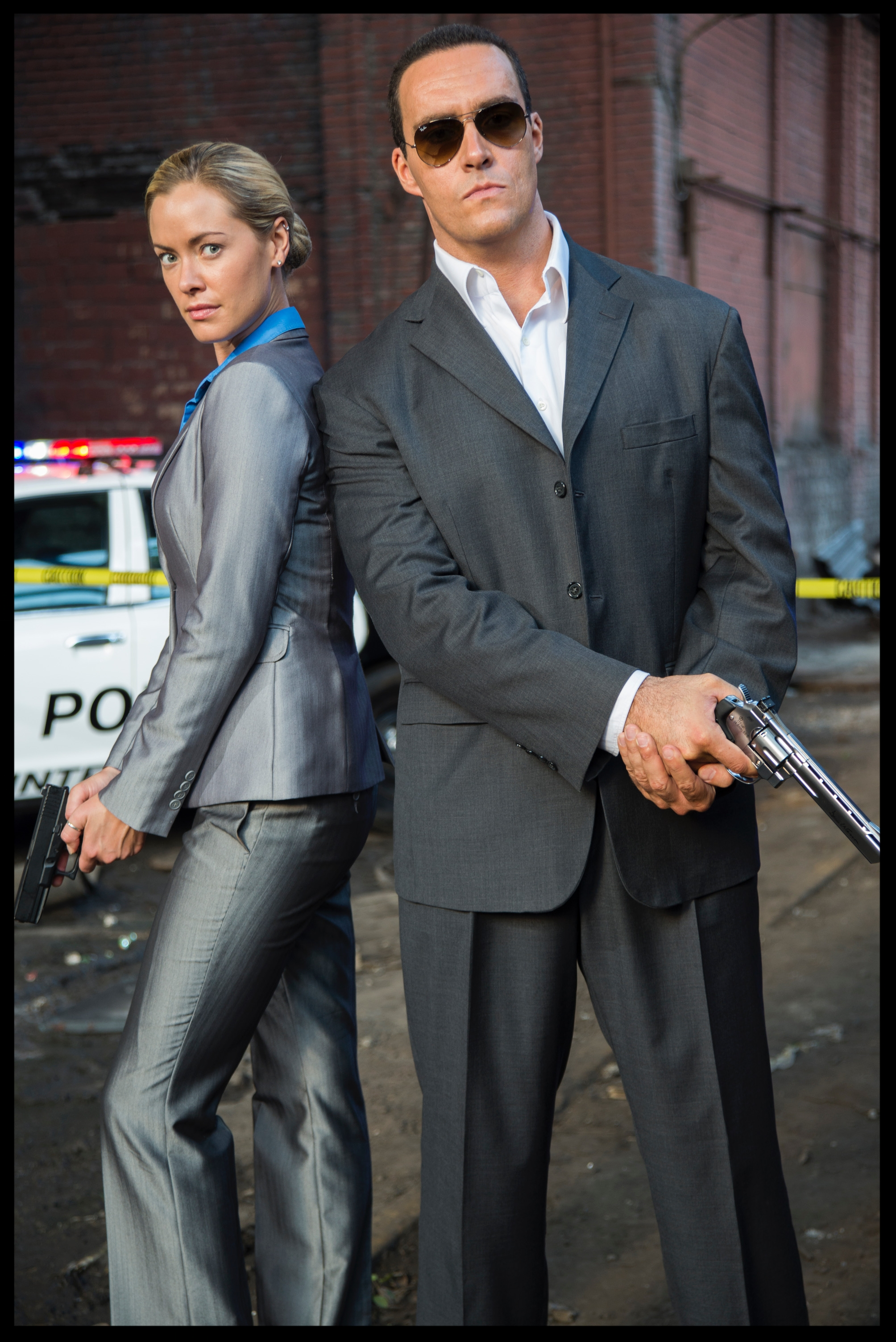 Kristanna Loken  ( Terminator 3 ) and  Alexander Nevsky  in   Black Rose