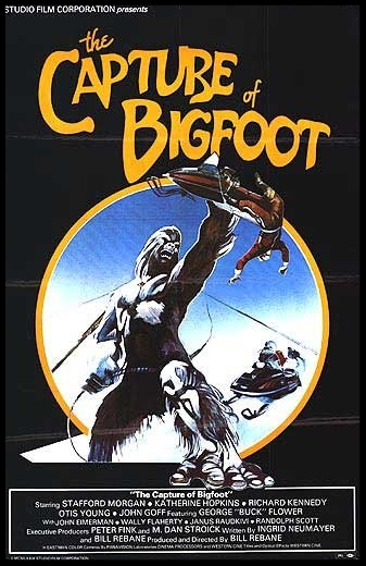 The Capture of Bigfoot 1979 Movie Poster