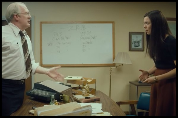 Christine's struggle with human interaction is one of the film's main themes.