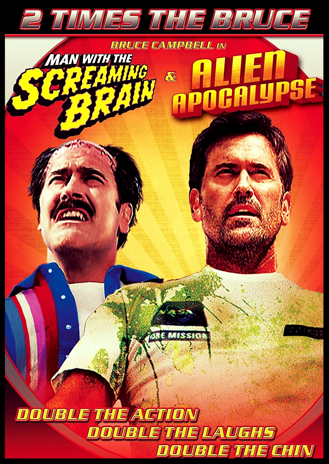 Bruce Campbell Bulgaria Double Bill