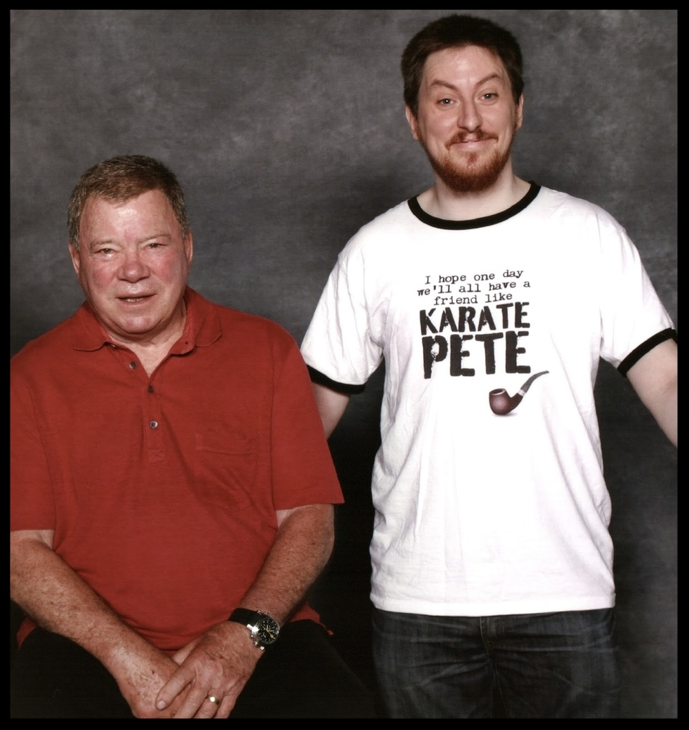 Philly comic con 13 Me and shatner.jpg