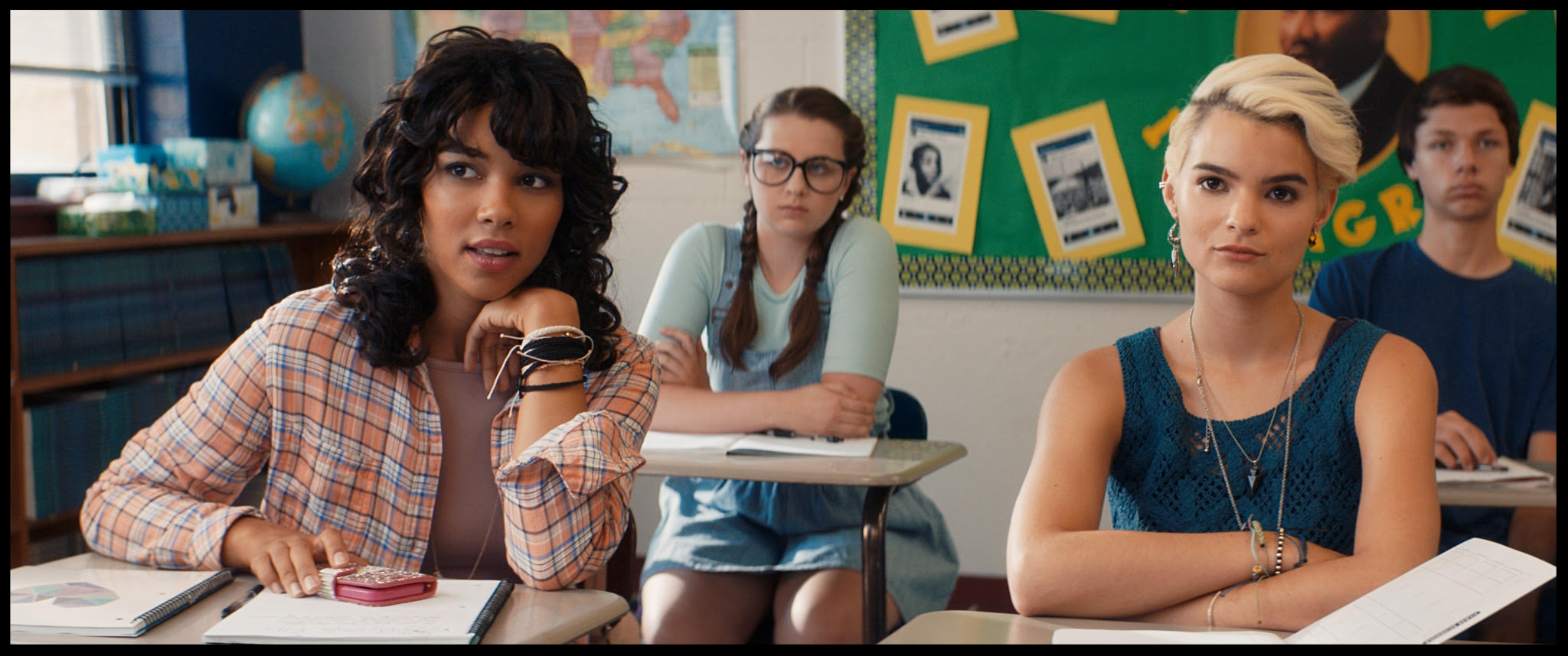 Tragedy Girls classroom