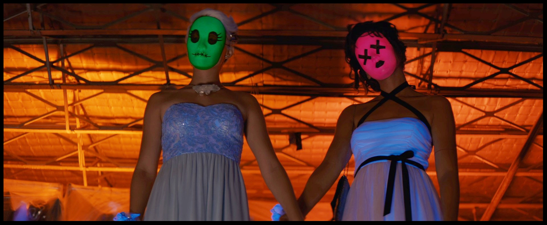 Tragedy Girls colour masks