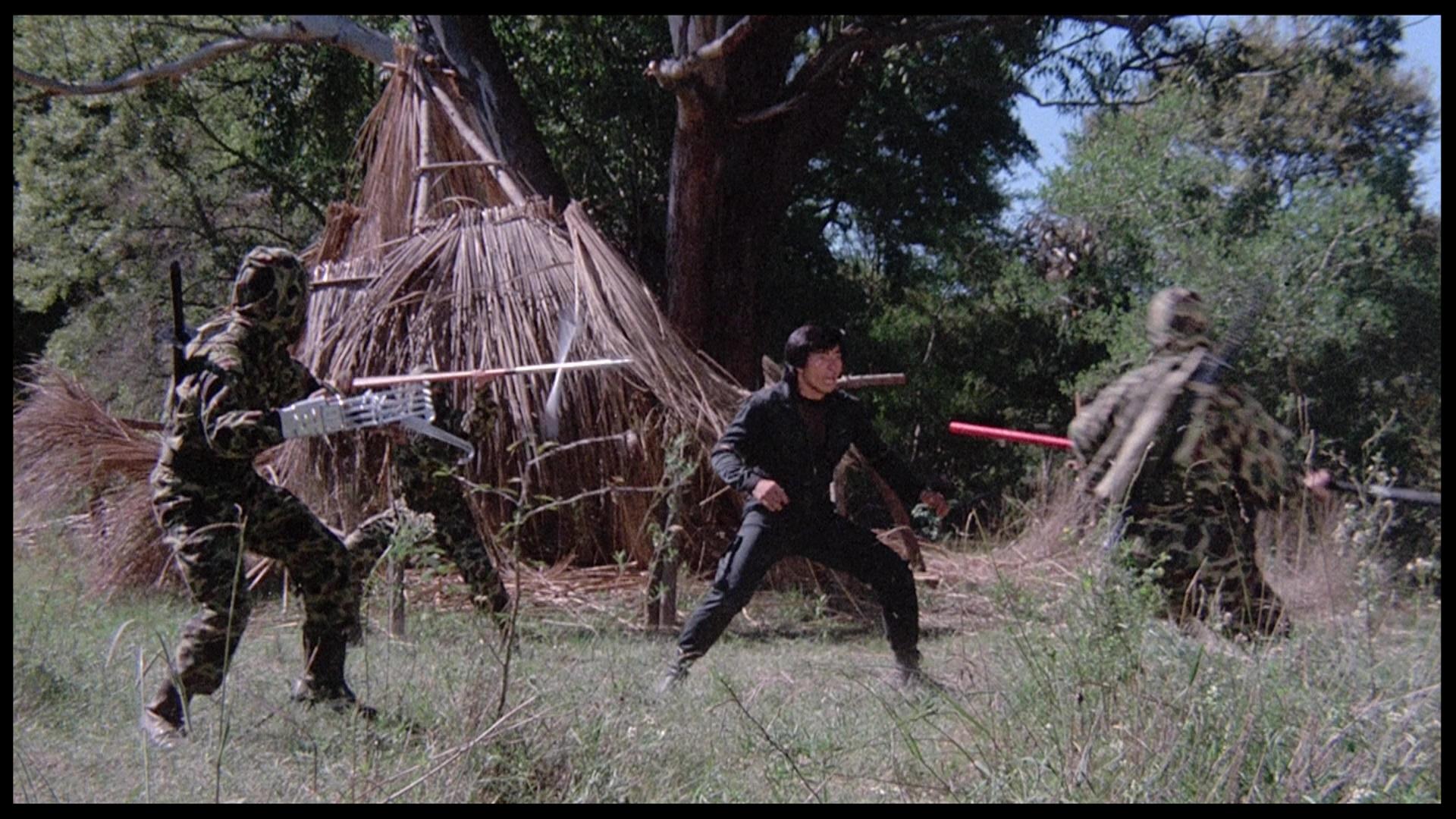 Rage of Honor Sho Kosugi clearing fight