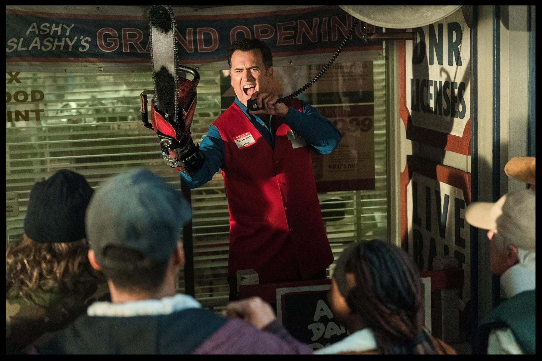 Bruce Campbell as Ash, AVED Season 3