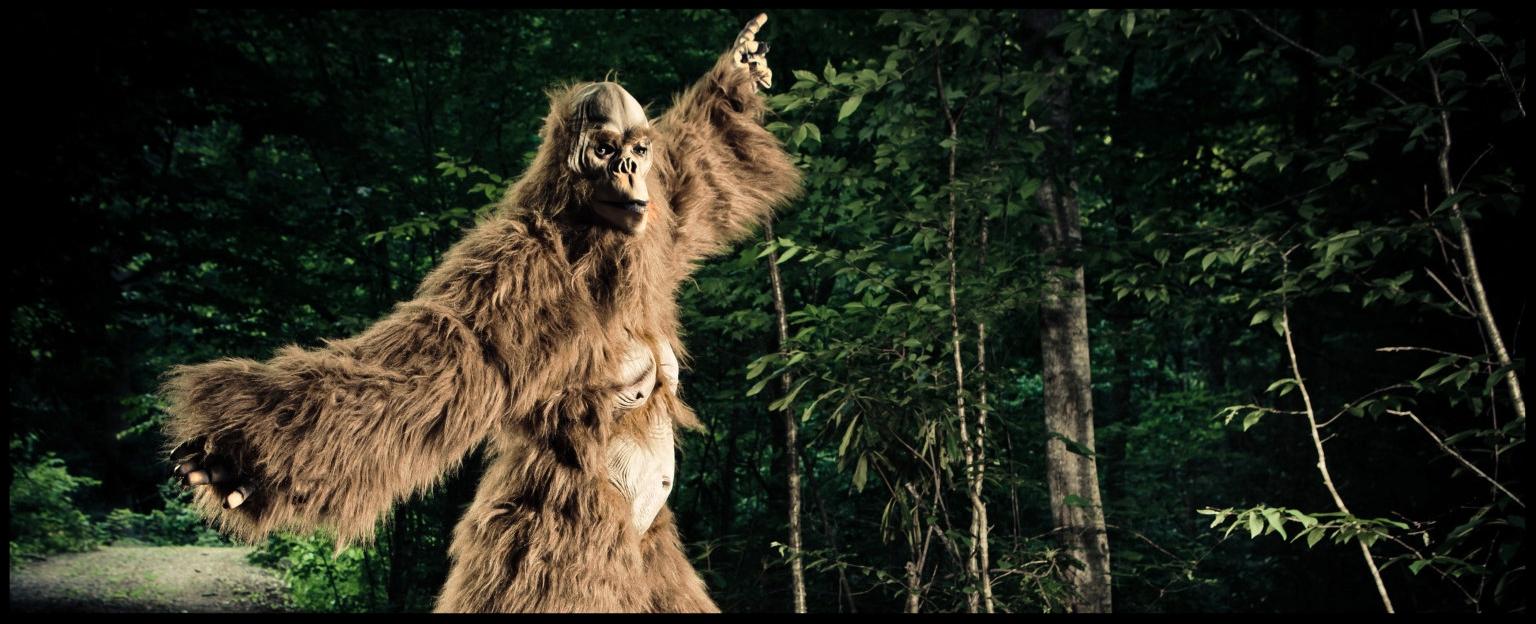Bigfoot dancing