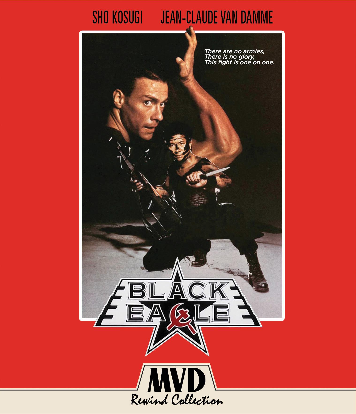 Black Eagle Blu Ray Cover