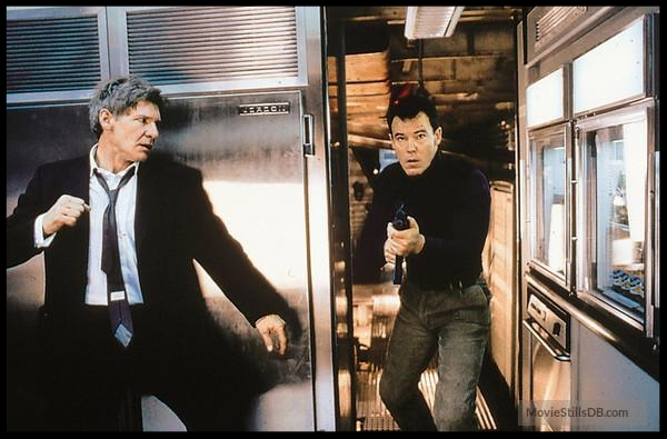 Harrison Ford and Andrew Divoff