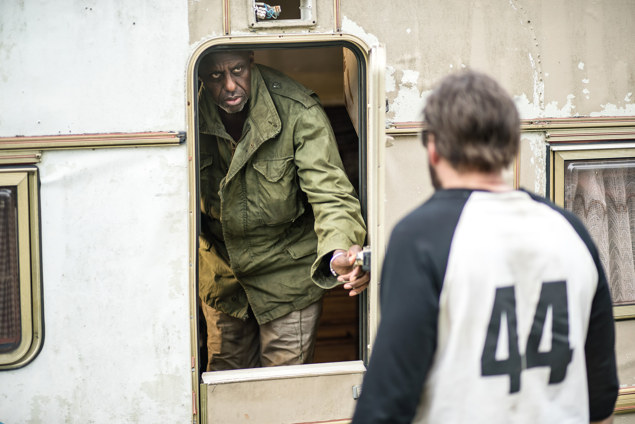 """Bill Duke  as Caruthers in the action, thriller film  """" MANDY """"  an  RLJE Films  release. Photo courtesy of  RLJE Films ."""