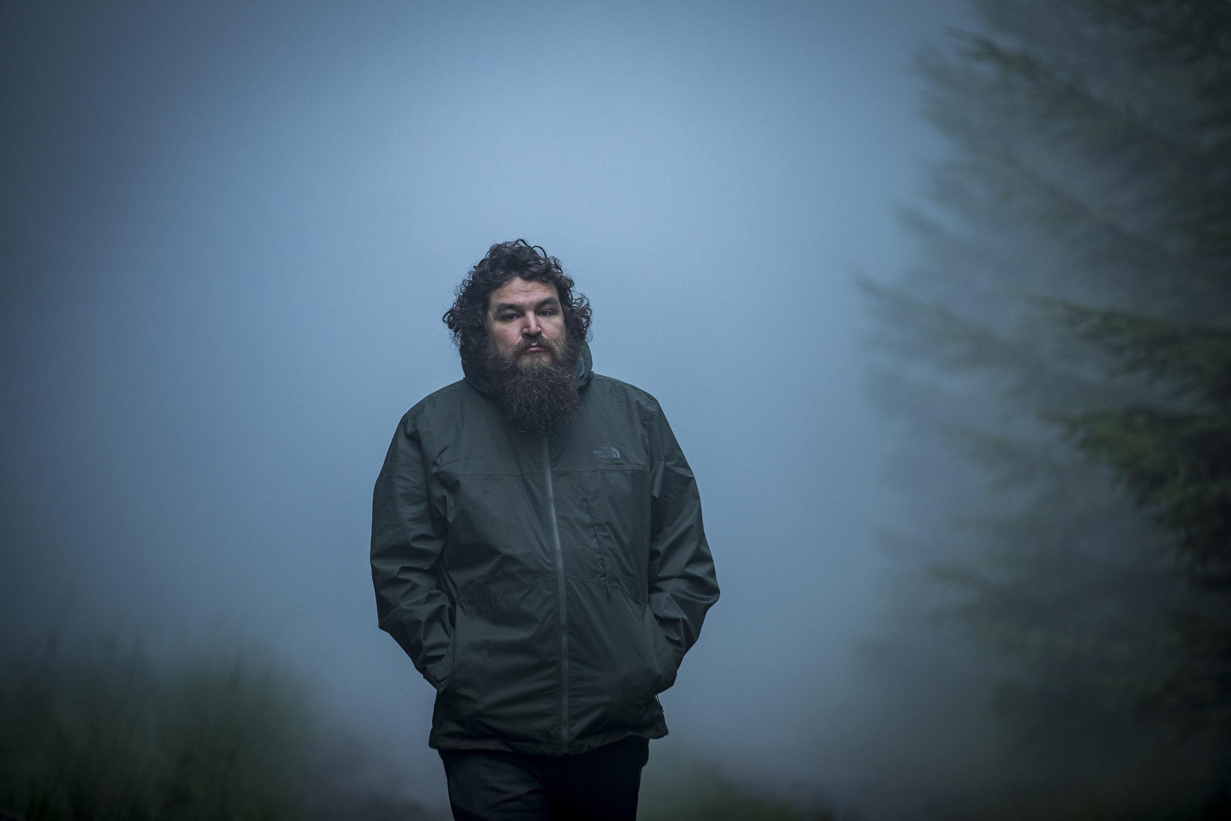 Director  Panos Cosmatos . Photo courtesy of  RLJE Films .