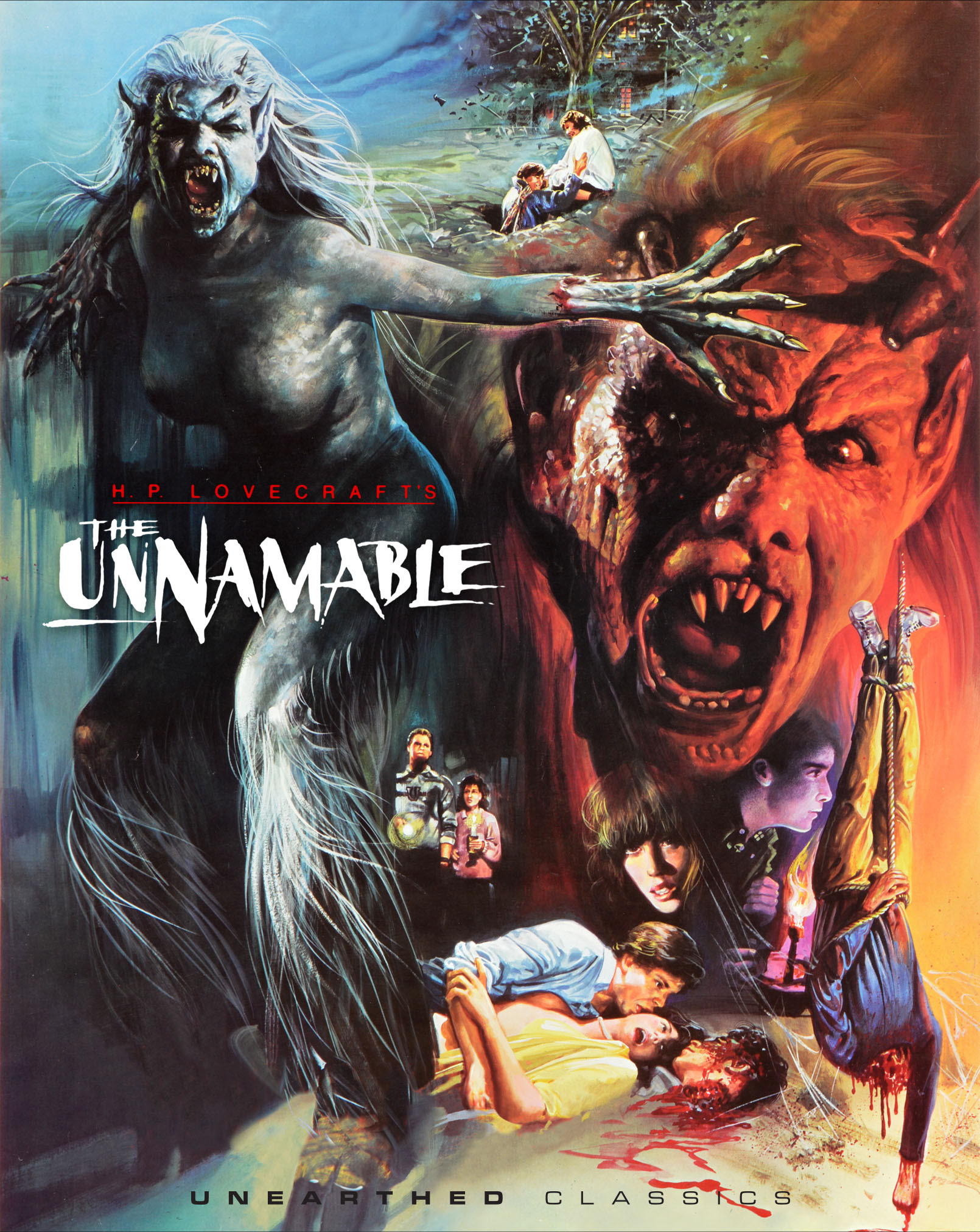The Unnamable Blu-Ray cover