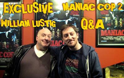 Maniac Cop 2 William Lustig Q & A