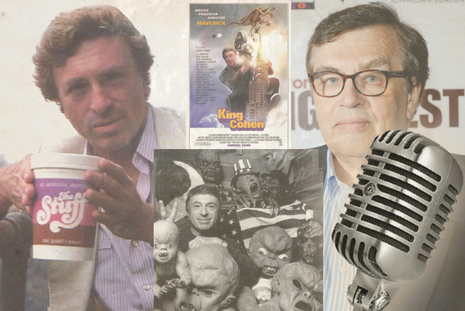 Interview with Writer, Larry Cohen - Jon Cross talks with renowned, genre filmmaker Larry Cohen and the director of the documentary about him,
