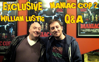 Maniac Cop 2 Q&A with William Lustig - Jon Cross of The After Movie Diner hosts a live Q&A with Director William Lustig after a screening of Maniac Cop 2