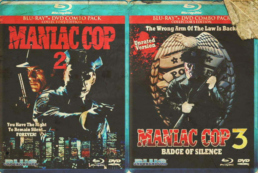 Maniac Cop 2 & 3, Blue Underground Blu-Ray Review - Jon Cross takes a look at Blue Underground's release of Maniac Cop 2 & 3.