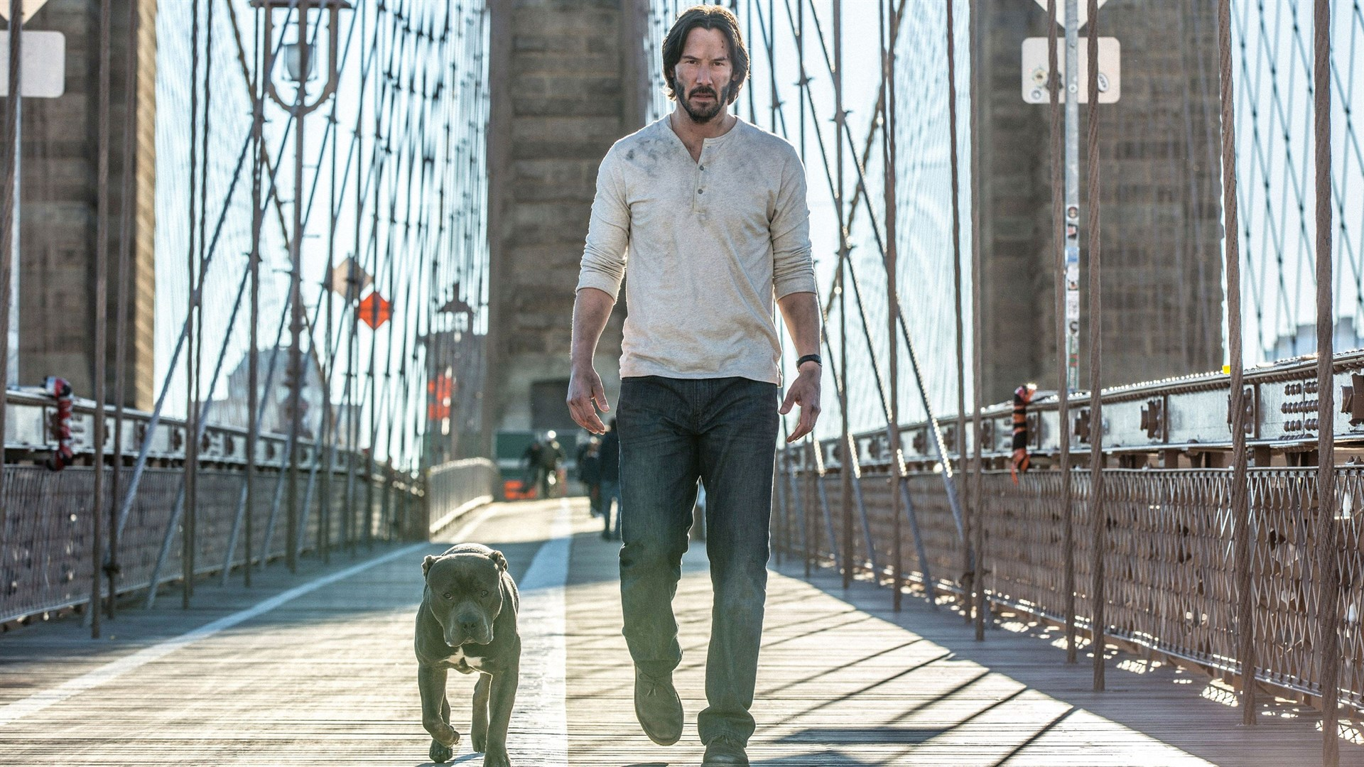 John Wick 2 Brooklyn Bridge