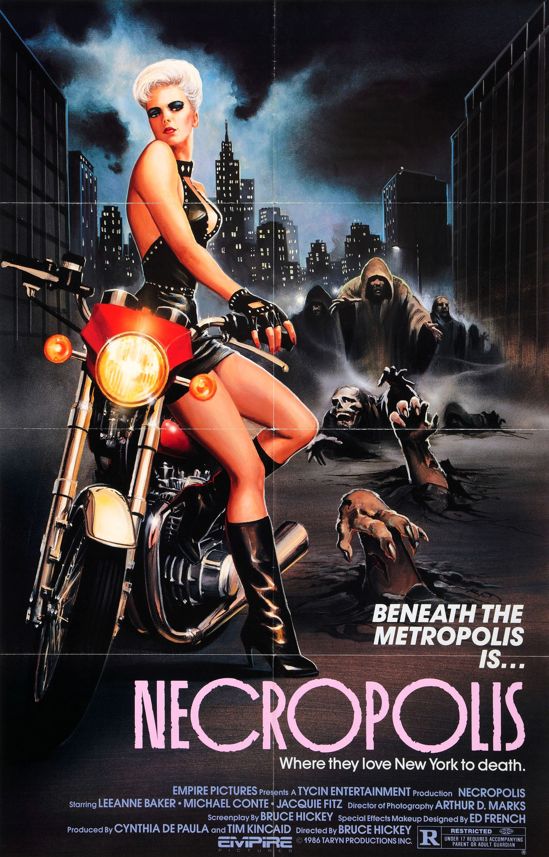 necropolis movie poster