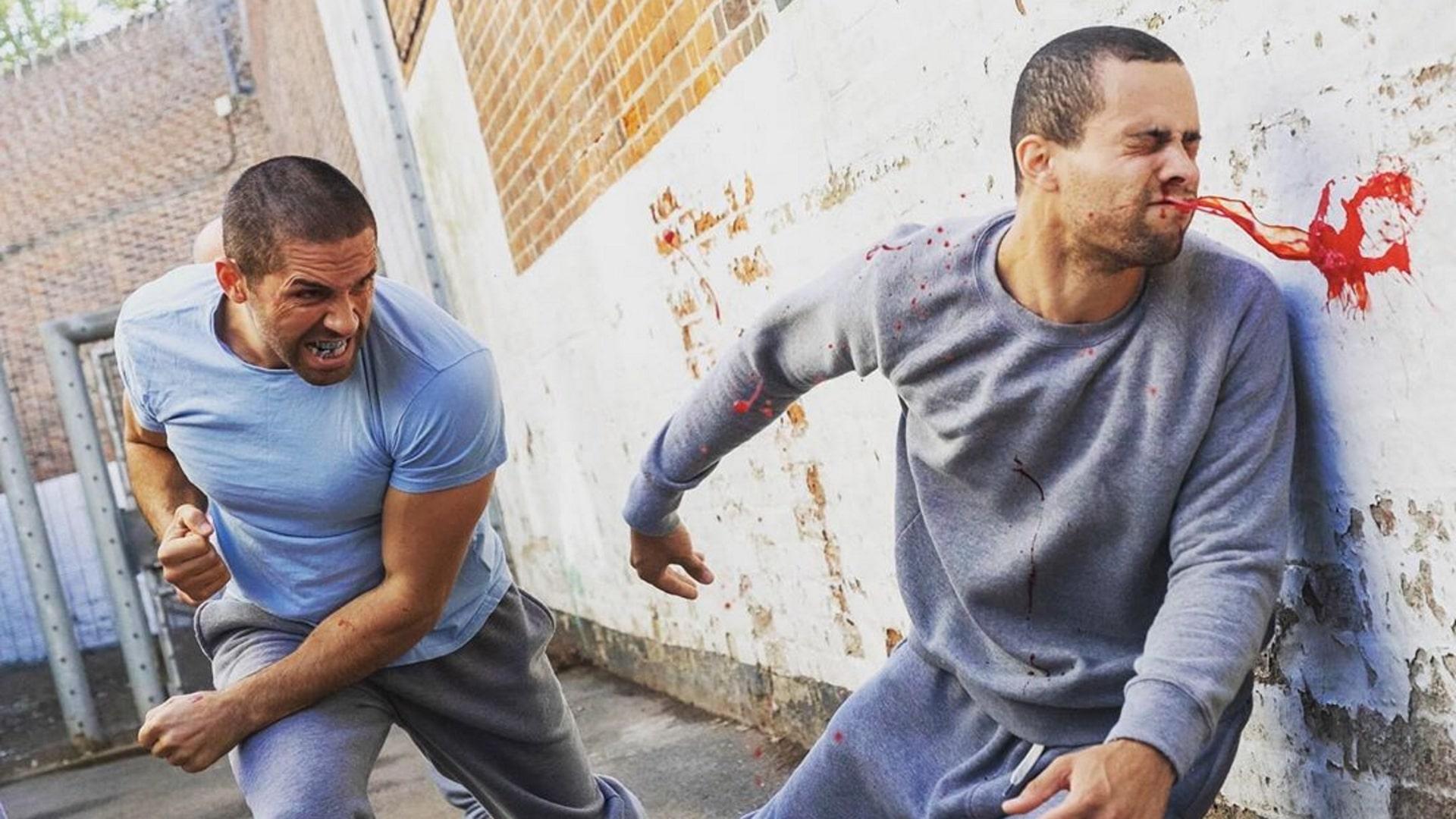 Prison yard fight Avengement Scott Adkins