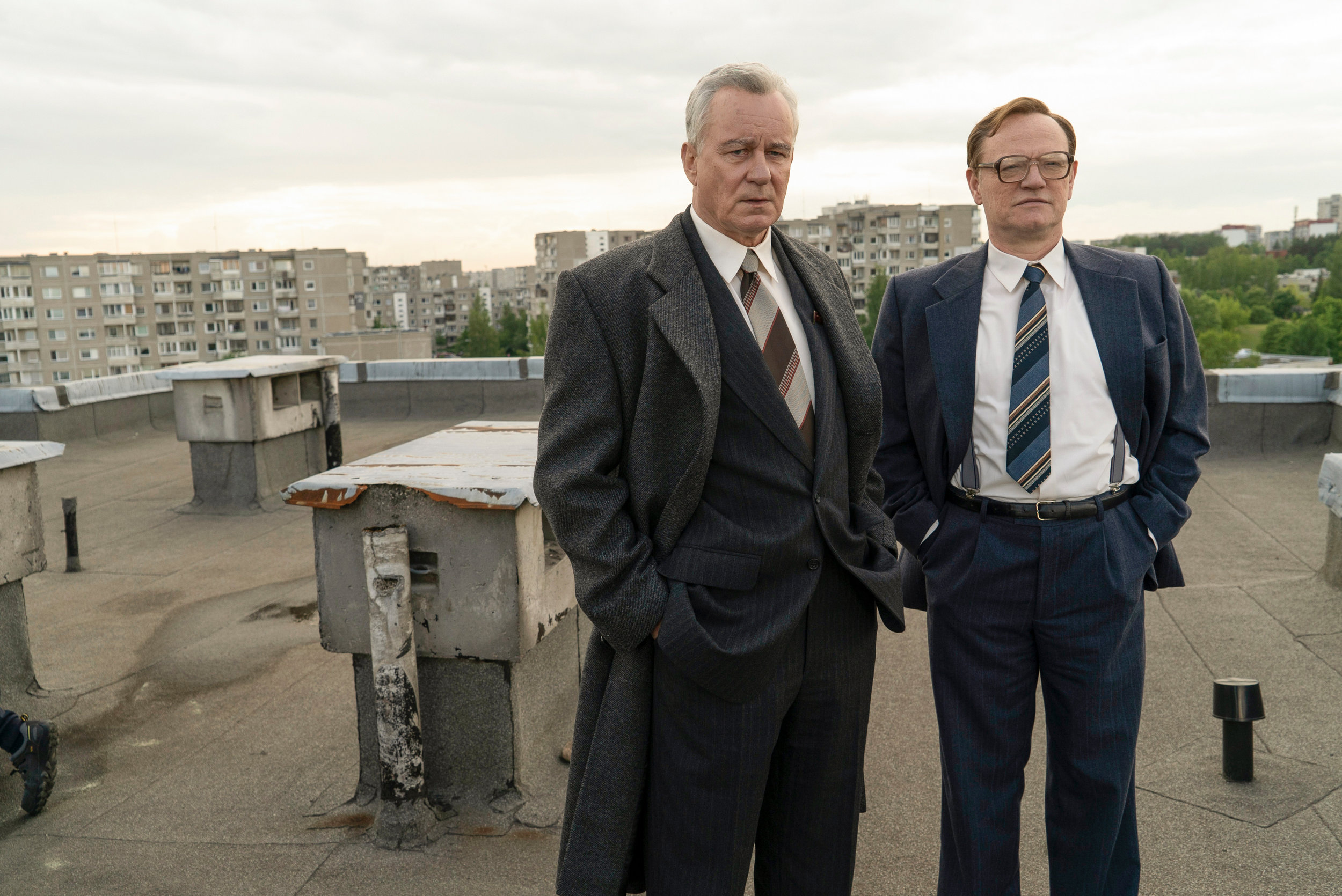 Stellan Skarsgård and Jared Harris Chernobyl