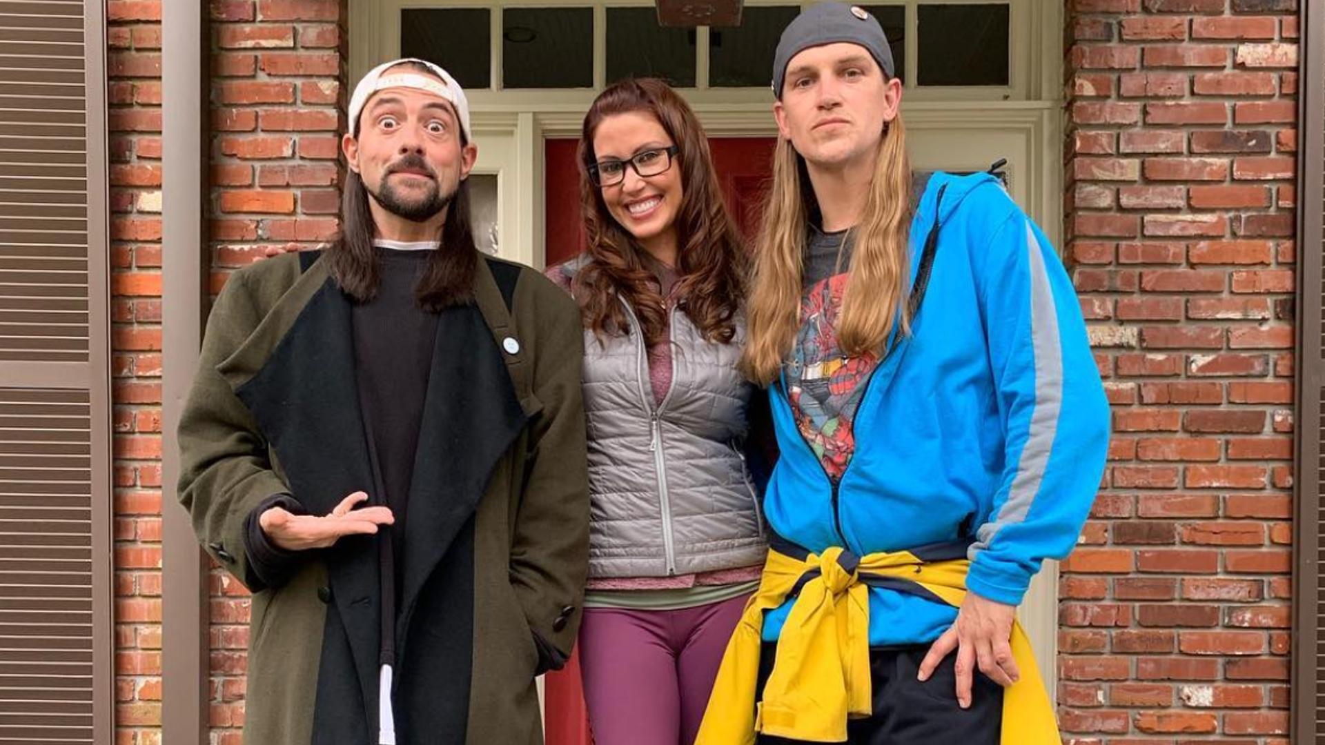 Shannon Elizabeth is back - Jay and Silent Bob reboot film