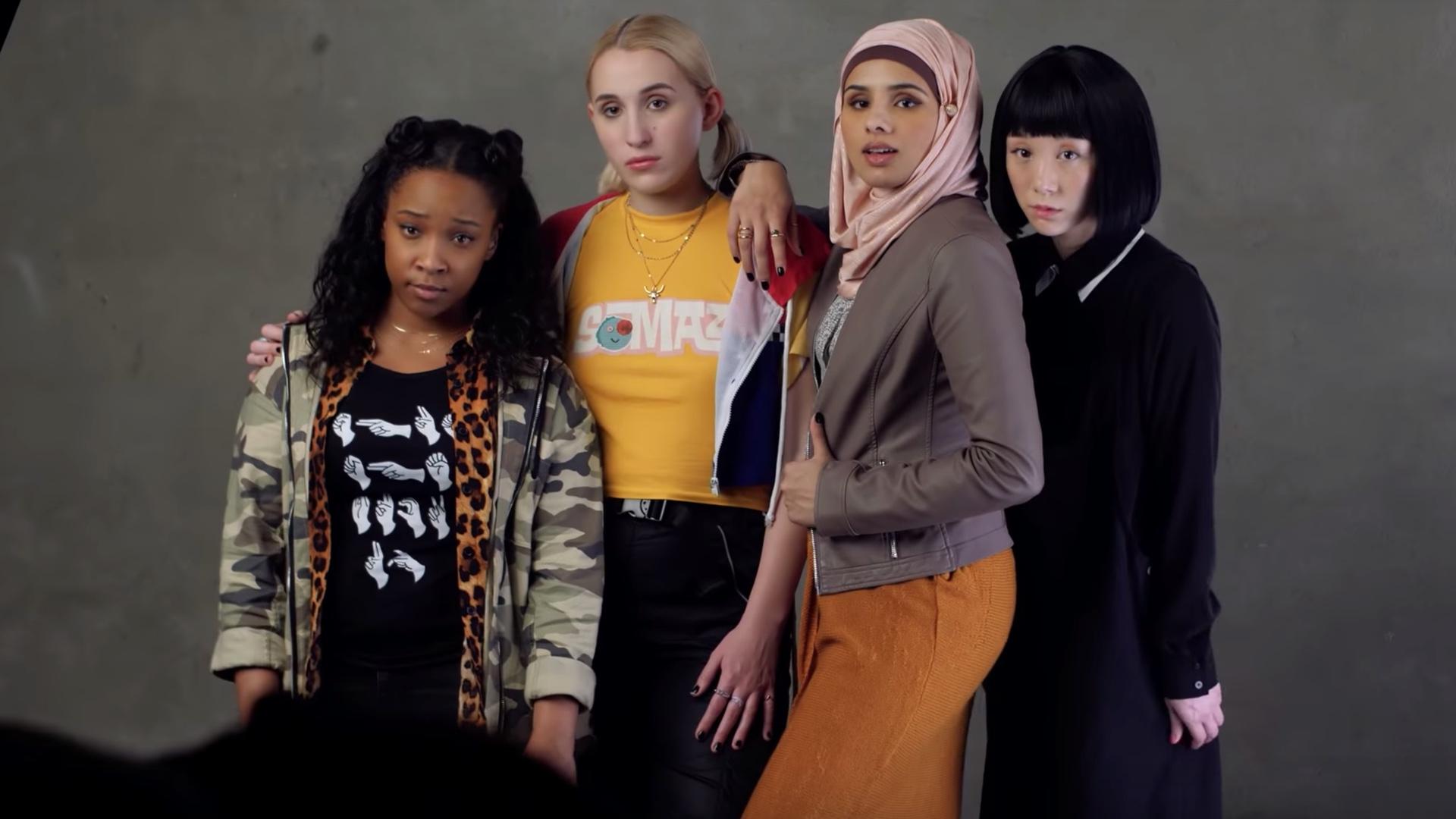 diverse girl gang Jay and Silent Bob reboot film
