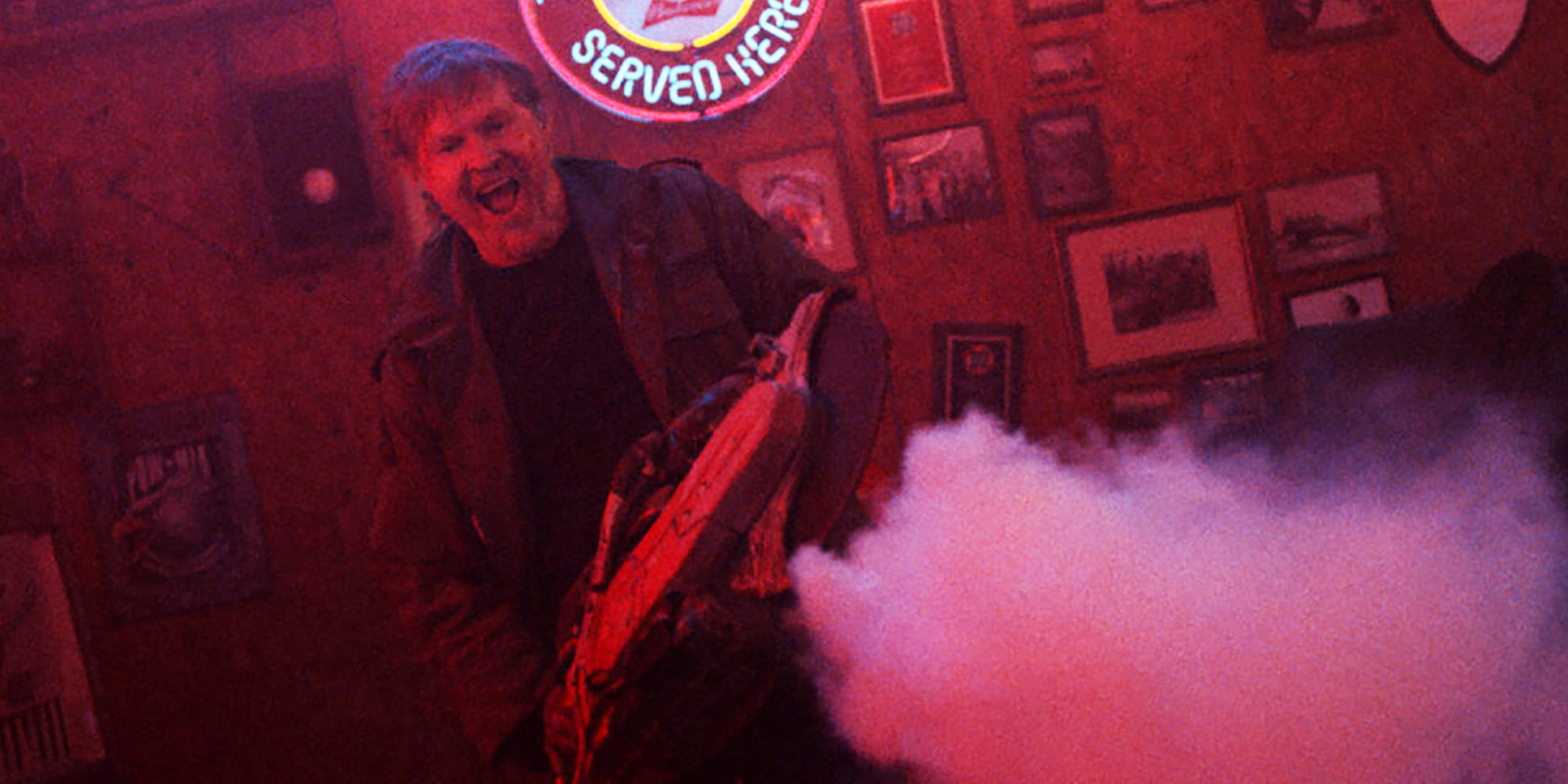 This image of  William Sadler  with a saw about to kick some mutant, punk ass is LIFE!!