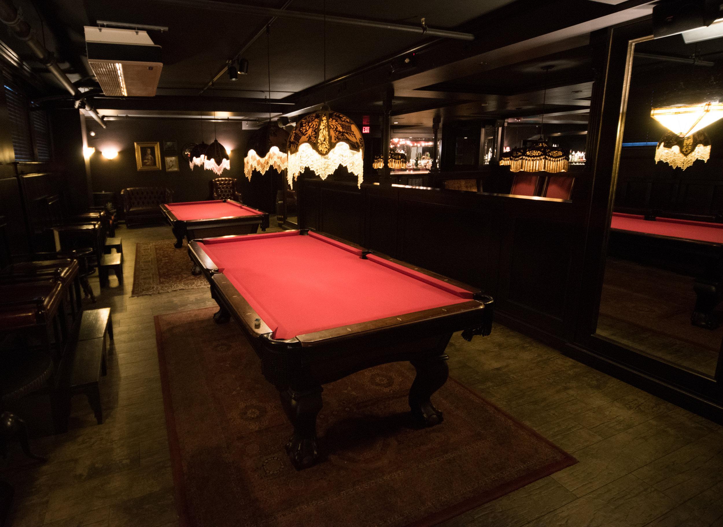 The Speakeasy Billiards